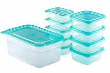 Chef's Star BPA-Free Reusable Microwavable Meal Prep Containers, 20 piece set