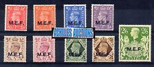 Greece. Dodecanese 1945 English stamps 1941-1942 with overpint MEF, Greek Stamps