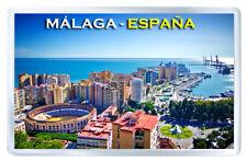MALAGA SPAIN MOD2 FRIDGE MAGNET SOUVENIR IMAN NEVERA