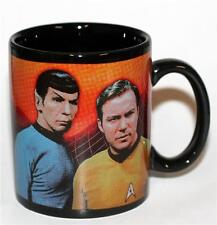 STAR TREK Sci Fi Movie TV Show Captain Kirk & Spock 12 oz CERAMIC COFFEE MUG New