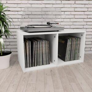 Vinyl Aufbewahrungsbox Spanplatte Schallplatten Regal mehrere Auswahl 71×34×36cm
