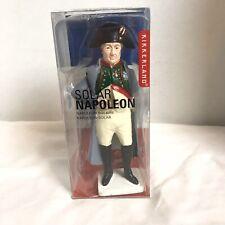 Kikkerland Solar Napoleon Novelty Figurine Solar Powered History Toy New In Box