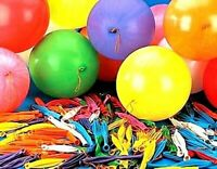 500 LARGE PUNCH BALLOONS PARTY BAG FILLERS GOODS CHILDREN'S LOOT BAGS TOYS UK