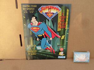 1996 Skybox Superman A Story@Sticker Album 1-66 Complete Nr/Mt