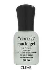Matte Gel Nail Polish Long Lasting Women Nair Art DIY Style Nail Polish No Light
