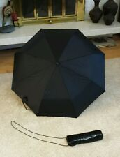 Black Umbrella with Metal Mesh Carrying Bag