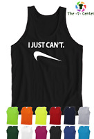 I Just Can't (Nike) Vest Mens Unisex Tank Top Sleeveless Can be Personlised