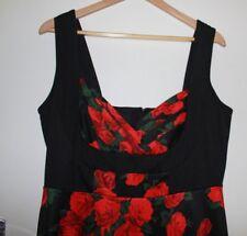 NWT Leona Edmiston Rose Dress Size 16