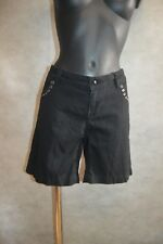 SHORT ZADIG & VOLTAIRE  TAILLE 42/44  PANT US W 34 BERMUDA TBE COTON A CLOU
