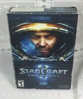 StarCraft II 2 Wings of Liberty PC (Damaged Box) Blizzard Win. 7 Battlenet 2010