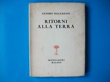 """""""RITORNI ALLA TERRA""""S.Baganzani(1928)+""""I SENTIERI E LE NUVOLE"""" G.Civinini(1911)"""