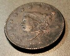 1820 Coronet Head Large Cent Details