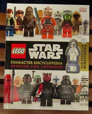 Lego Star Wars Character Encyclopedia Updated  with Boba Fett Minifigure  New