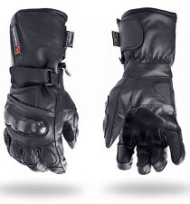 Thermal Waterproof Motorbike Motorcycle Gloves Carbon Knuckle Protection M