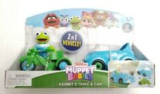 Muppet Babies 2 In 1 Vehicle Kermit's Trike And Car With Kermit Figure