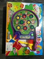 Kids Whack A Mole Fun Music Toy Pinball Hammer Cake Toy Game With Light Music
