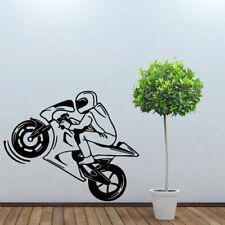 Wall Decal Moto Motorcycle Dirt Bike Gp Kids Room Mural M1048