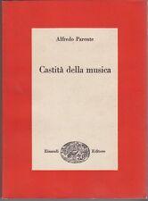 Alfredo Parente, Castità della musica, Einaudi, 1961, musica, Disney, Verdi