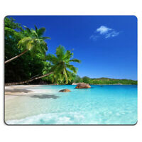 Beach Scenery Pattern Mouse Pad Anti Slip Mouse Mat Soft Game Mouse Pad 1Pc
