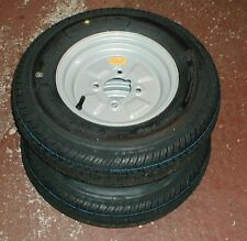 2 Trailer Wheels 145 x 10 4 Inch PCD