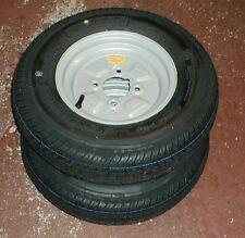 2 Trailer Wheels 145 x 10 4 Inch PCD