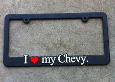 I love my Chevy chevrolet Tahoe Suburban Silverado license plate frame holder