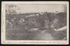 Postcard GRAND PRE VILLAGE Nova Scotia/CANADA  Town Bird's Eye Aerial view 1904