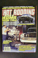 POPULAR HOT RODDING DECEMBER 1994 HOW TO ISSUE MONSTER TRUCK RALLY WHEEL