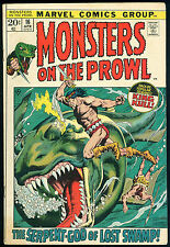 Monsters on the Prowl 16 comic Robert E Howard REH King Kull Marie Severin art