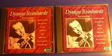 Django Reinhardt : Best Recordings 1 & 2 / 2CD