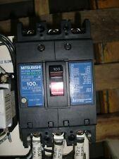 MITSUBISHI NO FUSE BREAKER   NF100-CP