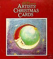 HELLER, Steven (Compiler) - ARTISTS' CHRISTMAS CARDS