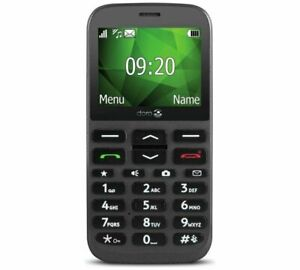 NEW Elderly OAP Big Button Mobile Phone Easy Dial - Doro 1370 incs EE £10 Top Up