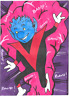 Marvel PSC Personal Sketch Card Anthony Wheeler NIGHTCRAWLER Chibi X-Men Archive