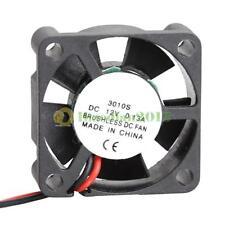 12V Brushless 30mm Mini DC Cooling Fan Radiator Cooler 30x30x10mm 5 Blades 2pin