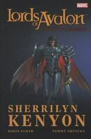 LORDS OF AVALON..KNIGHT OF DARKNESS by Sherrilyn Kenyon..hardcover