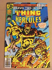 Marvel Two-in-One #44 Marvel 1972 Series Thing & Hercules