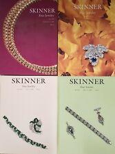 ((FOUR)) JEWELRY AUCTION CATALOGS $95.00 VALUE!!! / DIAMOND EMERALD SAPPHIRE