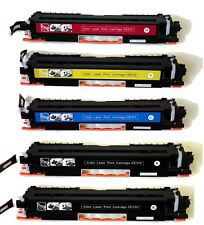 5PK CE310A(2 black) CE311A CE312A CE313A Toner Cartridge For HP126A M175A M175nw