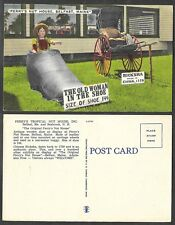 Old Maine Postcard - Belfast - Perry's Nut House - Old Woman in the Shoe