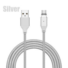 Up to 3M USB 3.1 Type C Braided Magnetic Charger Cable For Samsung S8/Plus LG G6