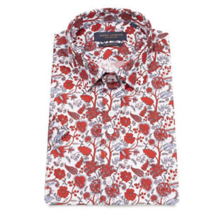 New Mens guide London Short Sleeve Red Shirt Size S £19.99 or best offerRRP£75