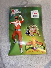 """Official Power Ranger Morphsuit Costume,Red,X-Large 5'10-6'3"""", Red, Size X-Large"""