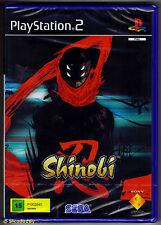 PS2 Shinobi (2003), Scanda Version, UK Pal, Brand New & Sony Factory Sealed