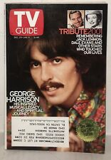 George Harrison - TV Guide Magazine, January 4th, 2002. Tribute: Jack Lemmon!!!!