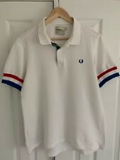 Fred Perry Bradley Wiggins Cycling Polo Shirt Large L Mod Very Rare