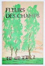 FLEURS DES CHAMPS, Éditions en Langues étrangères Chine Littérature Enfants