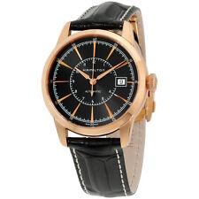 Hamilton Automatic Black Dial Leather Strap Men's Watch H40505731