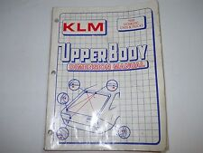 1988 Klm Upper Body Dimension Manual Domestic Cars & Trucks