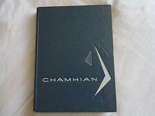 "School Yearbook CHAMBLEE HIGH SCHOOL 1963 ""Chamhian"" GEORGIA"